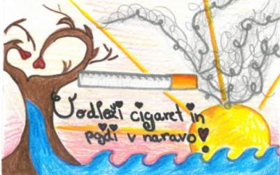 »Goreče sporočilo« -aktivnost na področju spodbujanja nekajenja med mladimi